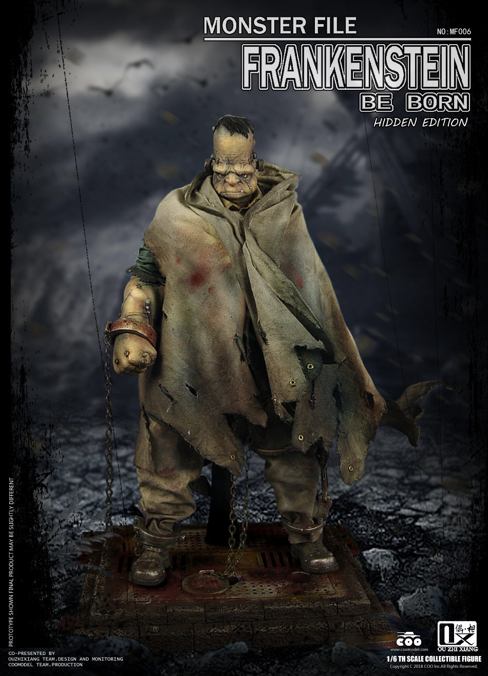 CooModel - Monster File No. 06 - Be Born - Frankenstein (Hidden Edition) (1/6 Scale)