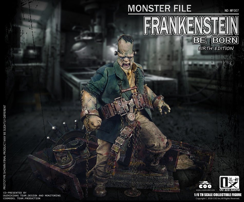 CooModel - Monster File No. 07 - Be Born - Frankenstein (Birth Edition) (1/6 Scale)