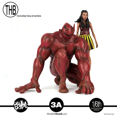 ThreeA - Paul Pope's THB + HR Watson Collectible Super Set (1/6 Scale)