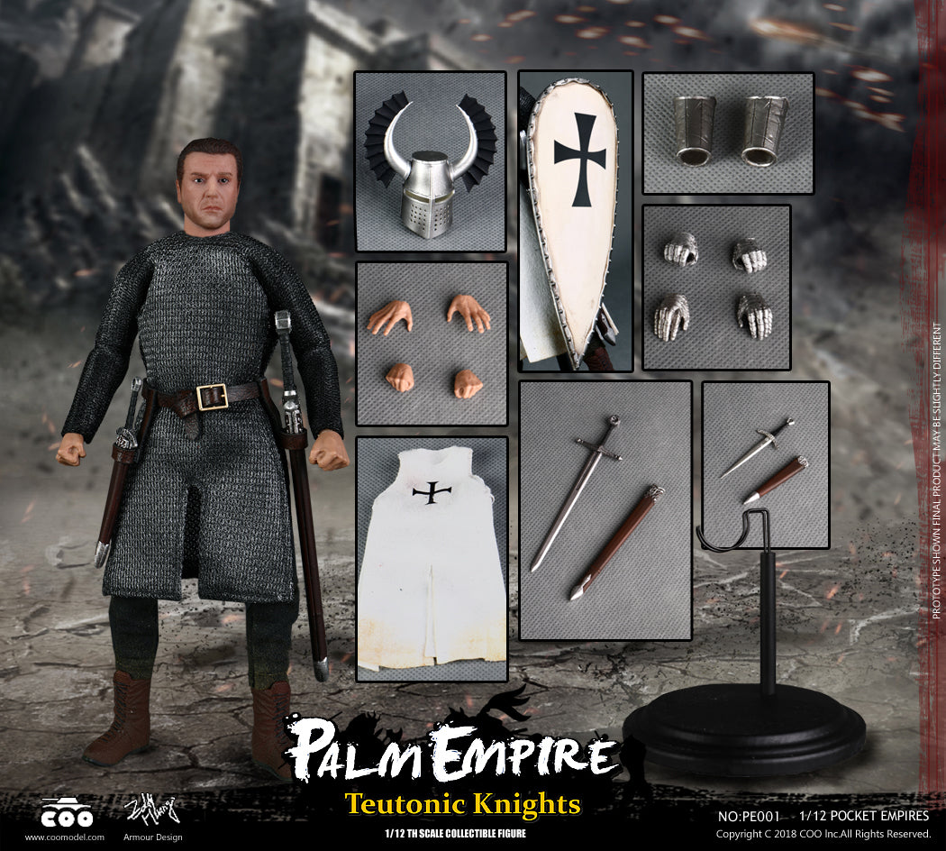 CooModel - Palm Empire - Teutonic Knight (1/12 Scale)