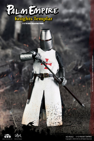 CooModel - Palm Empire - Templar Knight (1/12 Scale)