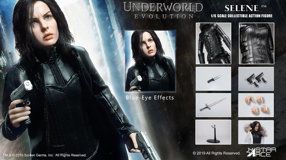 Star Ace Toys - Underworld 2: Evolution - Selene 2.0 Blue Eye Ver. (1/6 Scale)