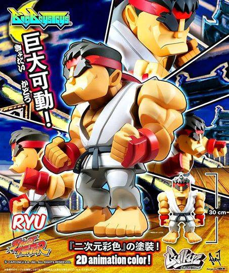 Bigboystoys - Bulkyz Collection - Street Fighter - Ryu