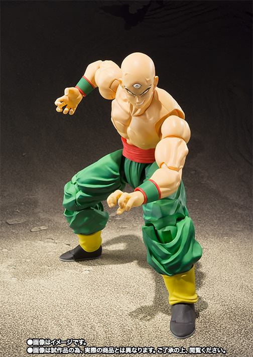 S.H.Figuarts - Dragon Ball Z - Tien Shinhan with Chiaotzu (TamashiiWeb Exclusive)