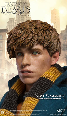 Star Ace Toys - Fantastic Beasts and Where to Find Them - Newt Scamander with Bonus Coat (1/6 Scale)