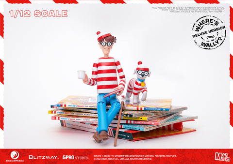 Blitzway x 5Pro - Megahero - Where's Wally? - Wally (DX Ver.)