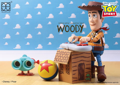 Herocross - Hybrid Metal Figuration - HMF067 - Toy Story - Woody