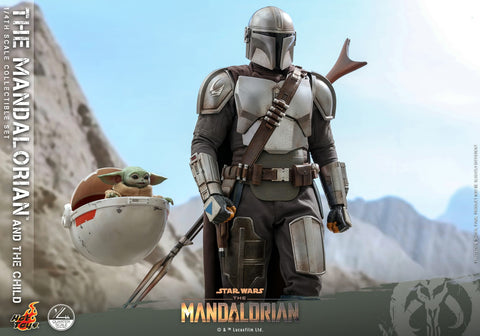 Hot Toys - QS016 - Star Wars: The Mandalorian - The Mandalorian & The Child (1/4 Scale)