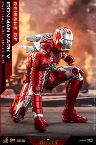 Hot Toys - MMS400D18 - Iron Man 2 - Iron Man Mark V (Reissue)