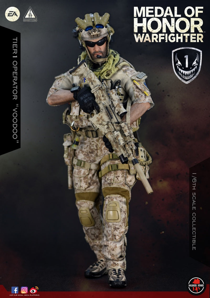 "Soldier Story - SS106 - Medal of Honor Navy SEAL - Tier One Operator ""Voodoo"""