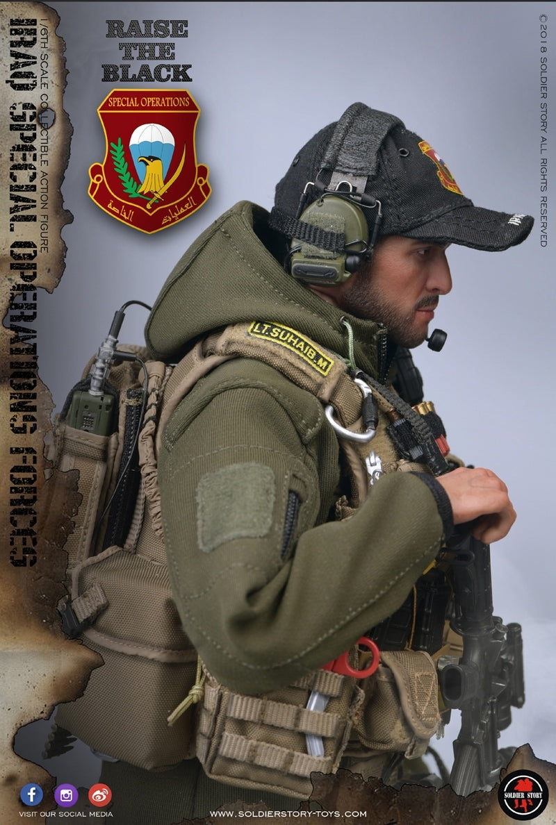 Soldier Story - SS107 - Iraq Special Operations Forces - SAW Gunner (1/6 Scale)