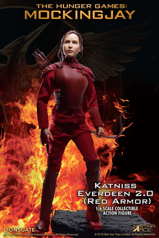 Star Ace Toys - The Hunger Games: Mockingjay - Katniss Everdeen (Red Armor) (1/6 Scale)