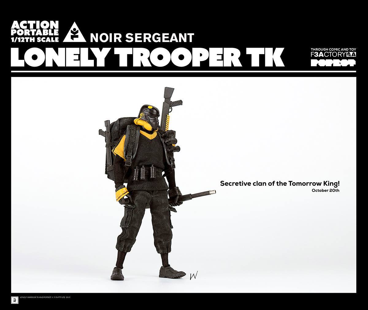 ThreeA - Action Portable by F3Actory - Lonely Trooper TK Noir Sergeant