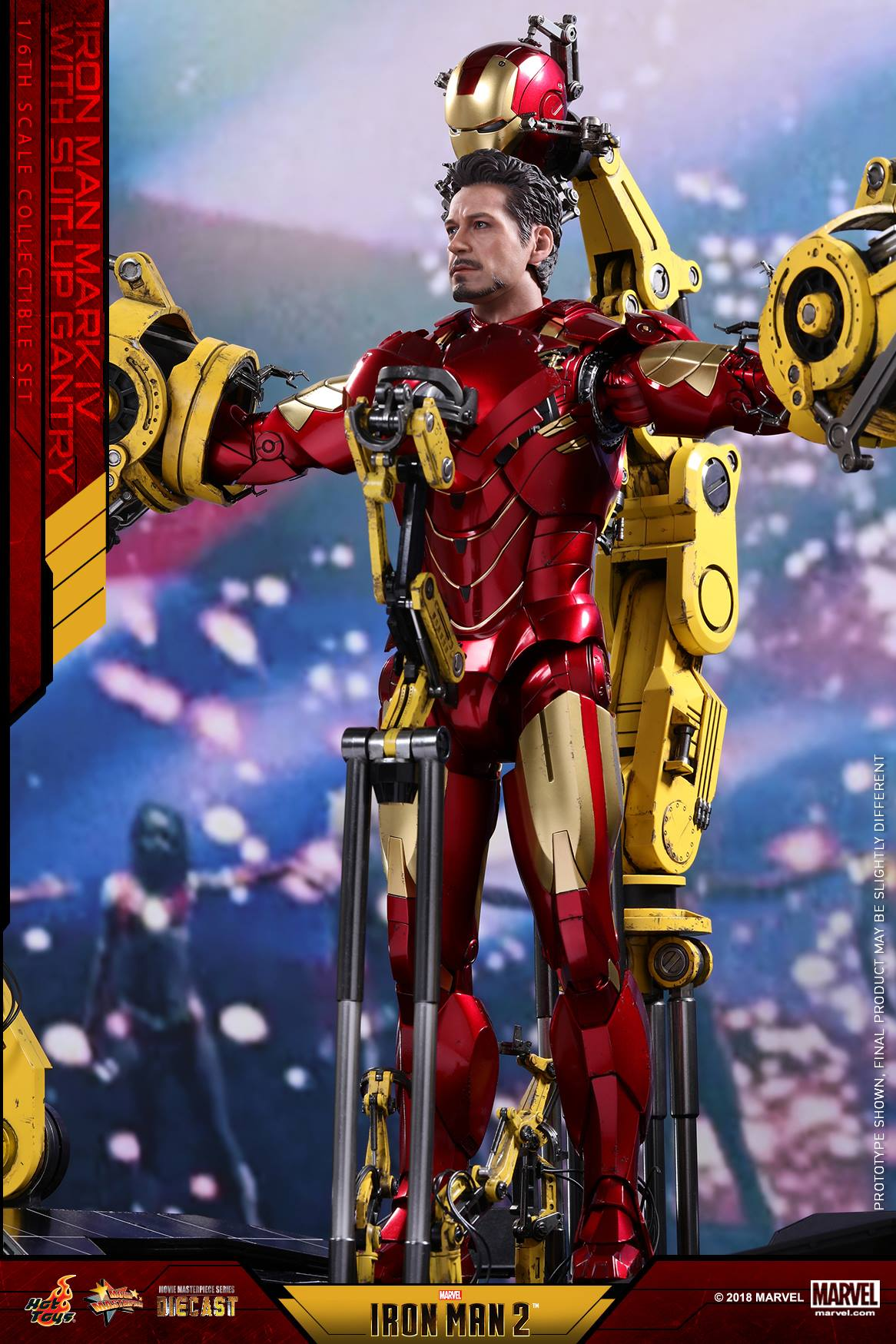 Hot Toys - MMS462D22 - Iron Man 2 - Iron Man Mark IV with Suit-Up Gantry