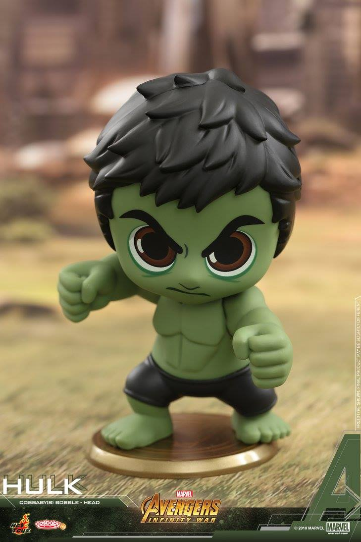 Hot Toys - COSB445 - Avengers: Infinity War - Hulk Cosbaby Bobble-Head