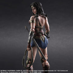 (IN STOCK) Play Arts Kai - Batman v Superman: Dawn of Justice - Wonder Woman - Marvelous Toys - 6