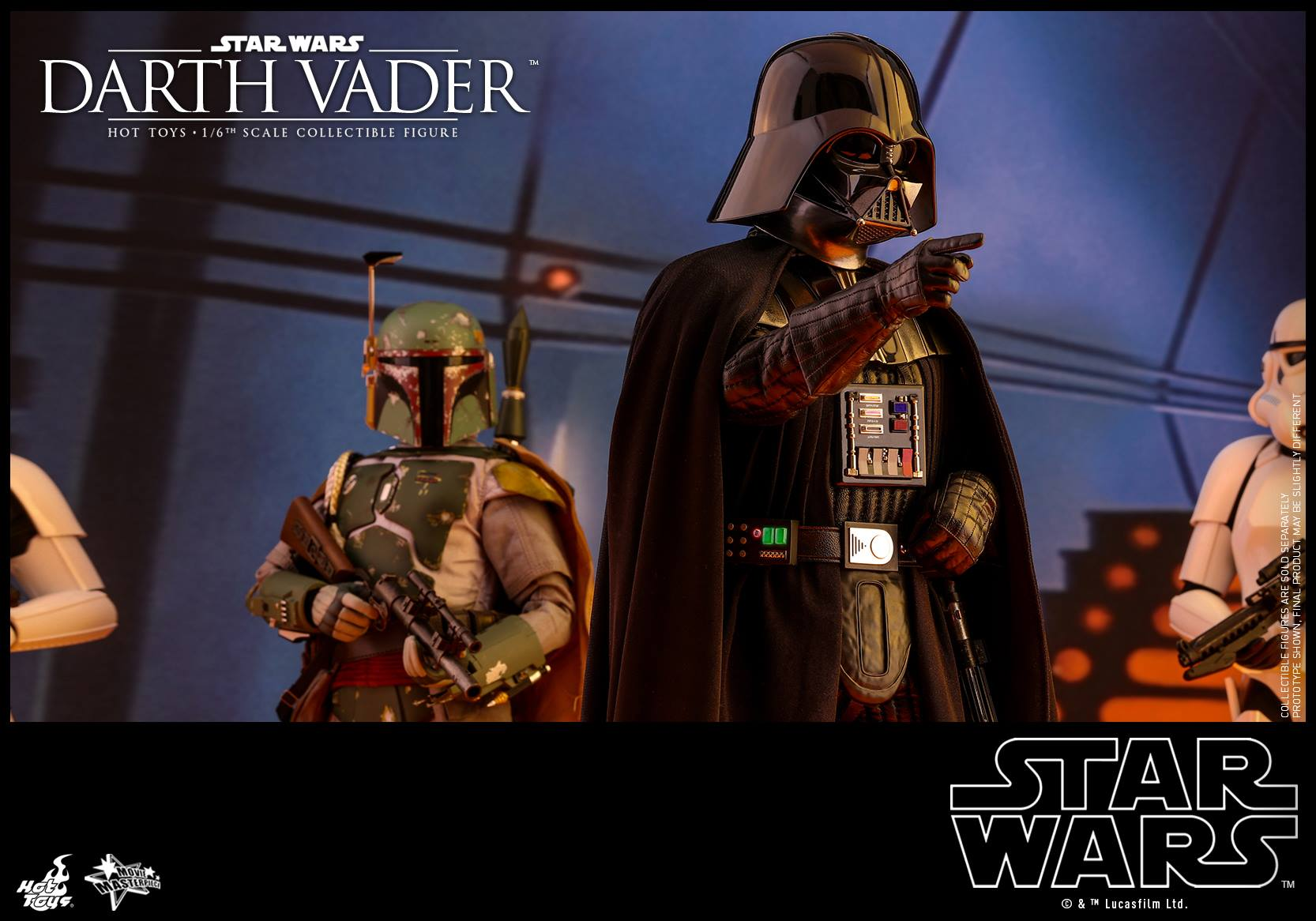 Hot Toys - MMS452 - Star Wars: Episode V The Empire Strikes Back - Darth Vader