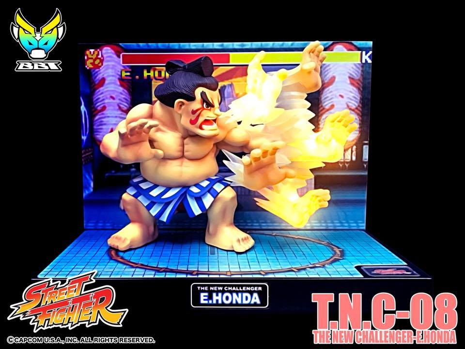 Bigboystoys - Street Fighter - The New Challenger Series T.N.C 08 - E. Honda