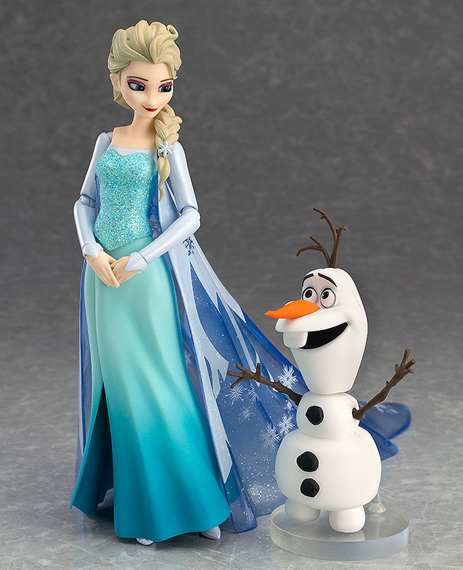 Good Smile Company - Figma - 308 - Frozen: Elsa and Olaf - Marvelous Toys - 1
