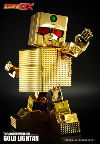 Action Toys - ES Gokin DX - Golden Warrior Gold Lightan (24K Gold Version)