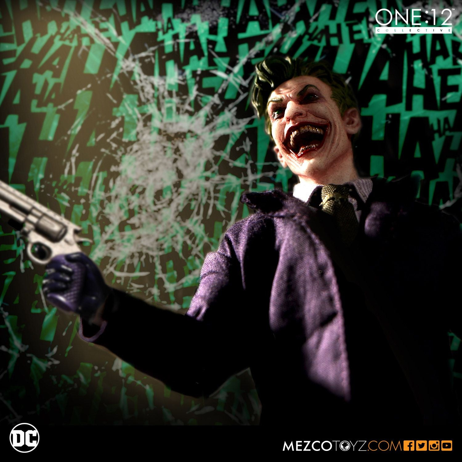 Mezco - One:12 Collective - The Joker - Marvelous Toys - 3