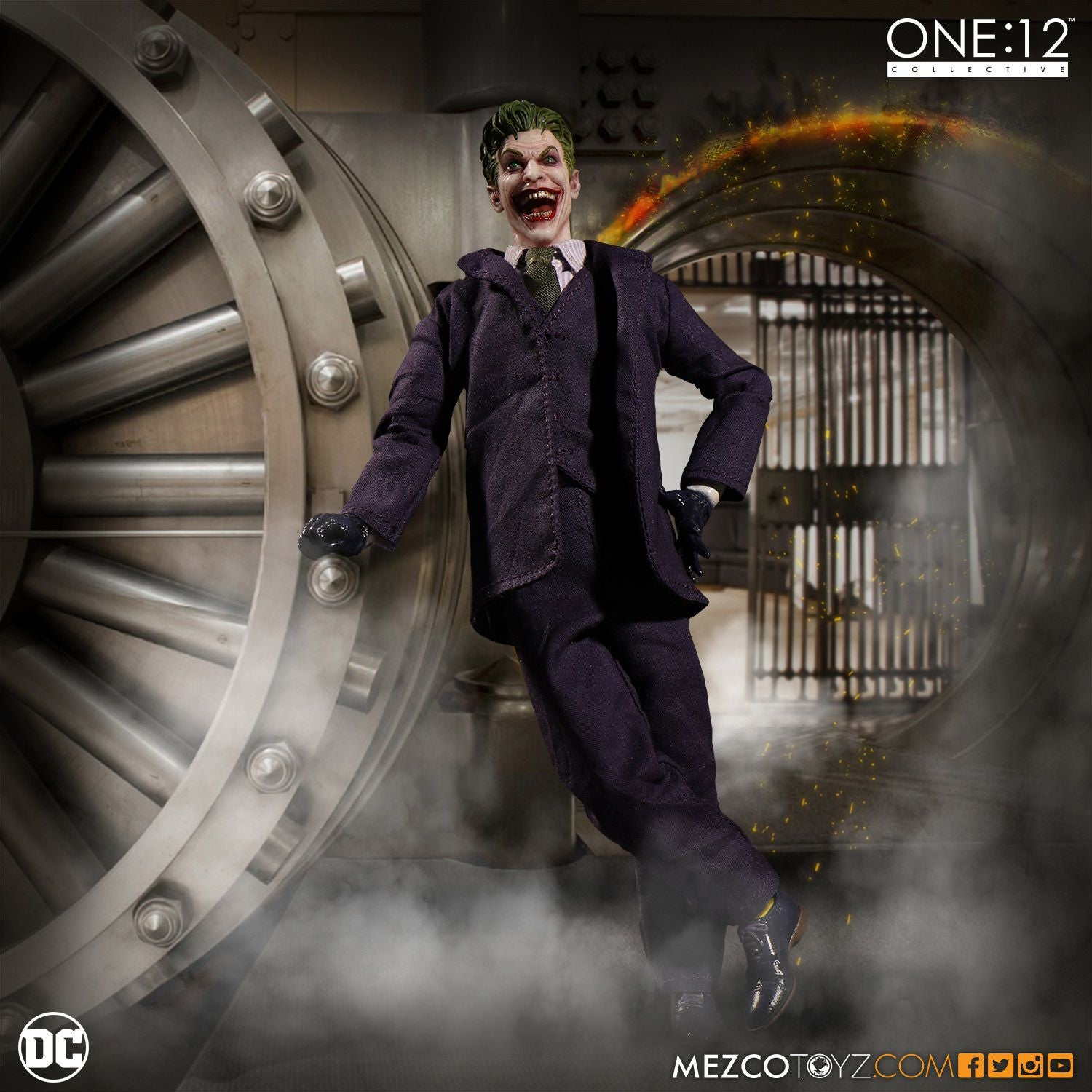 Mezco - One:12 Collective - The Joker - Marvelous Toys - 4