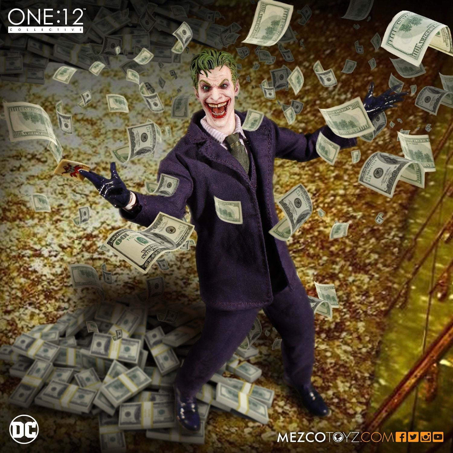Mezco - One:12 Collective - The Joker - Marvelous Toys - 5