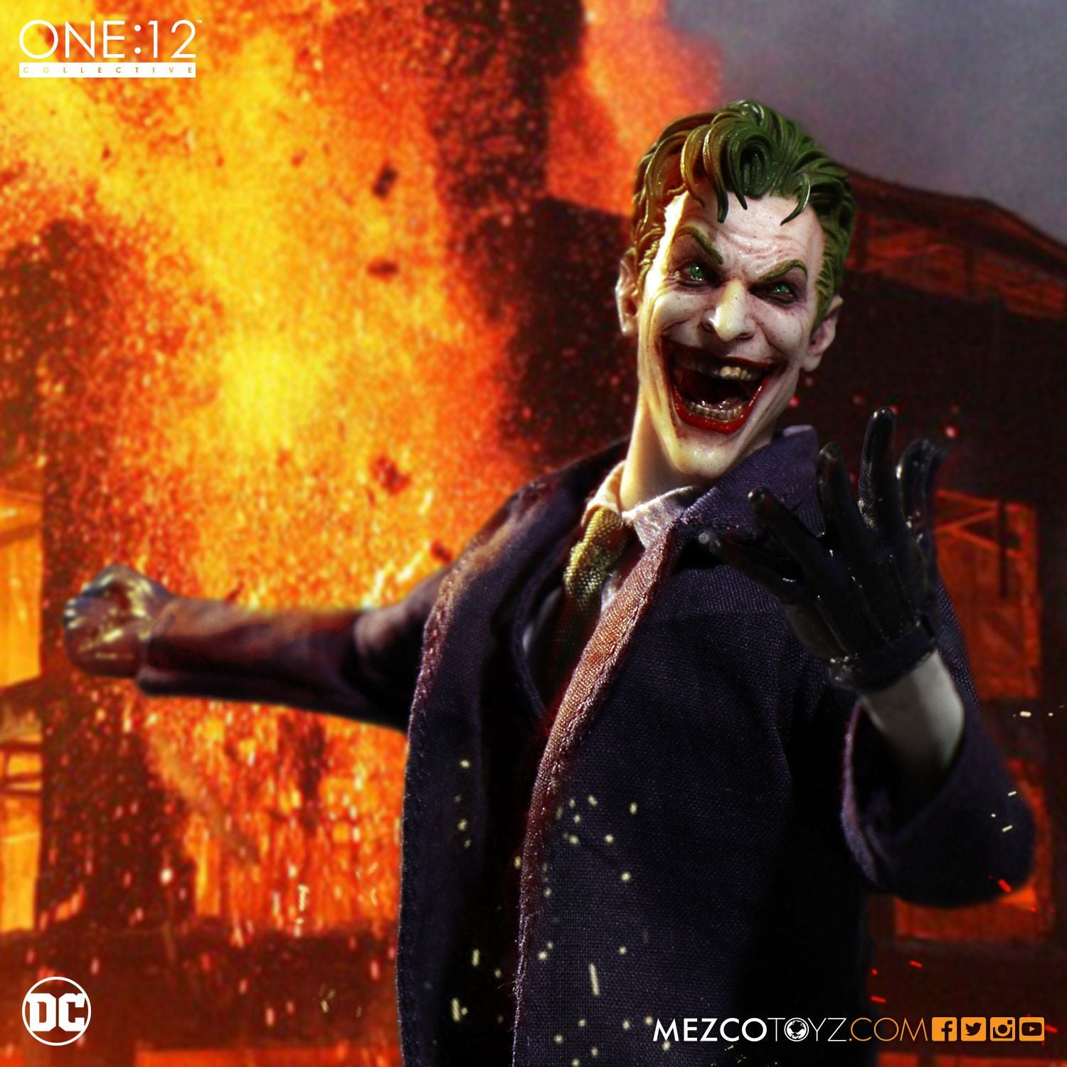 Mezco - One:12 Collective - The Joker - Marvelous Toys - 7