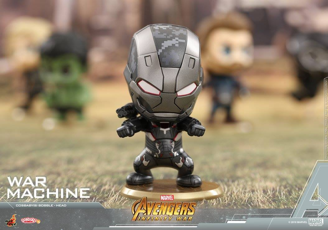 Hot Toys COSB465 Avengers Infinity War Loki Mini Cosbaby Doll Model Collection