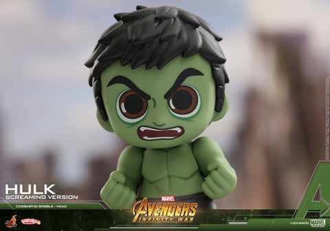 Hot Toys - COSB446 - Avengers: Infinity War - Hulk (Screaming Version) Cosbaby Bobble-Head