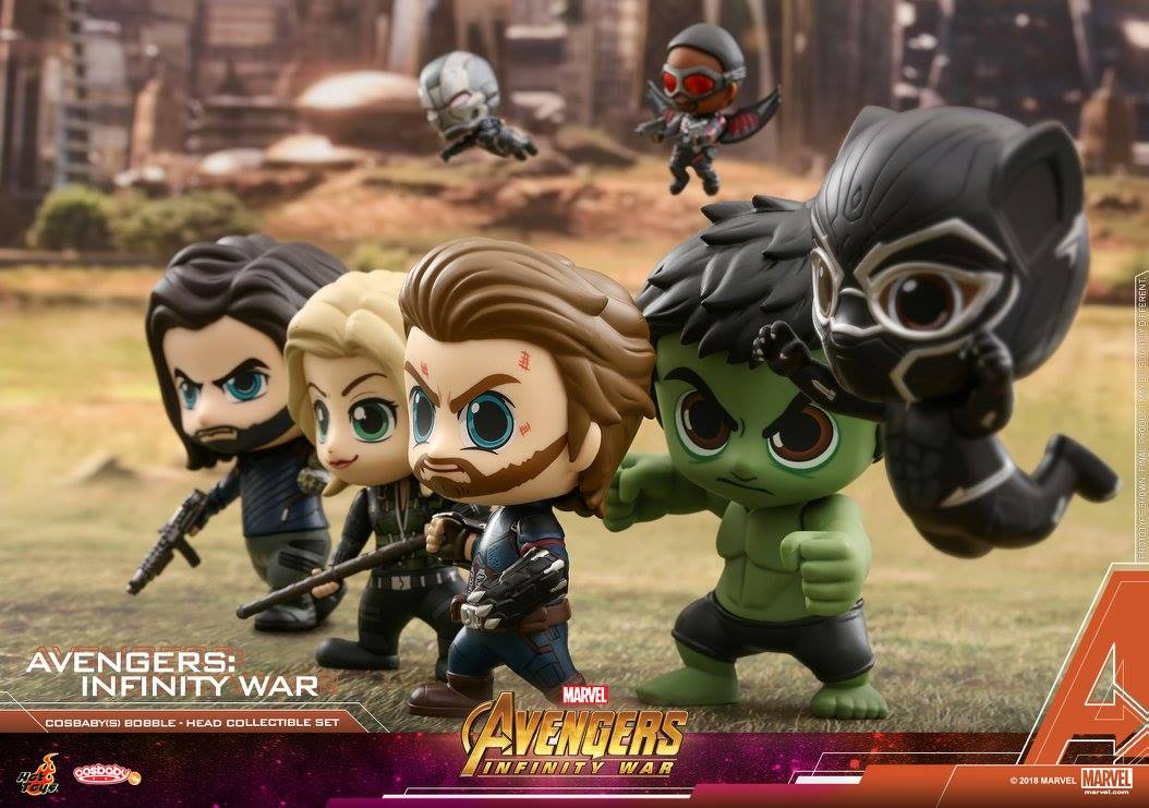 Hot Toys - COSB450 - Avengers: Infinity War - Cosbaby Bobble-Head Collectible Set