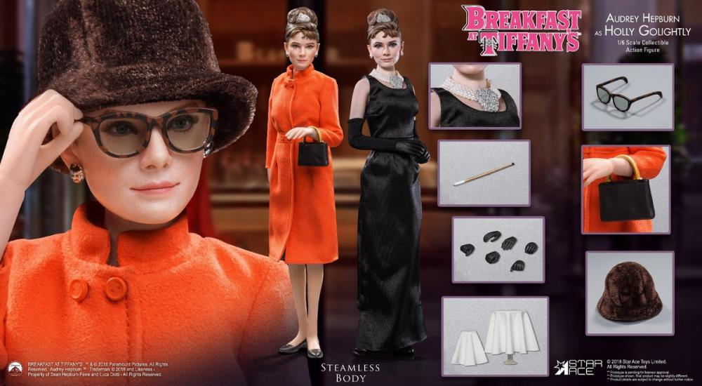 Star Ace Toys - Breakfast at Tiffany's - Audrey Hepburn as Holly Golightly (Special Deluxe Ver.) (1/6 Scale)