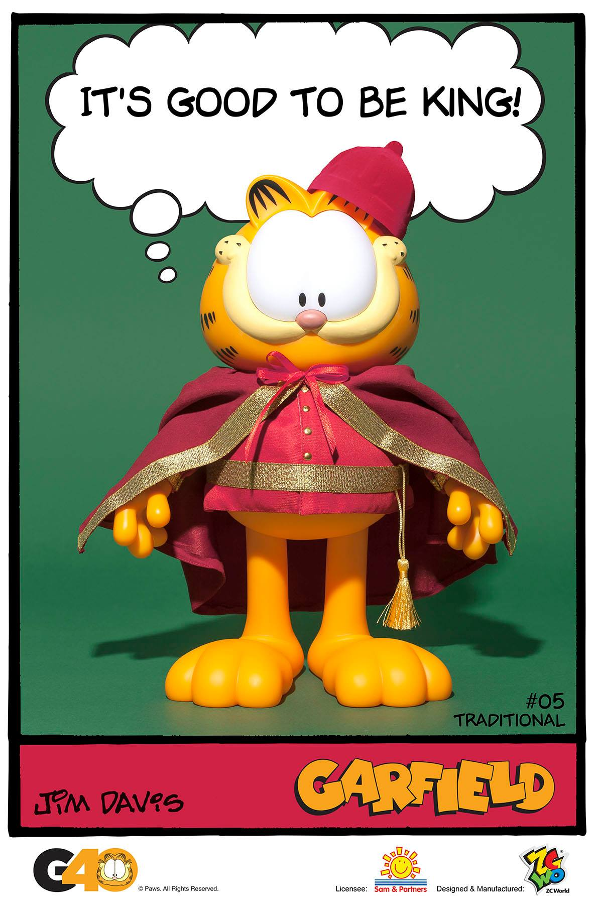 ZC World - Vinyl Collectibles - Master Series 05 - Traditional Garfield
