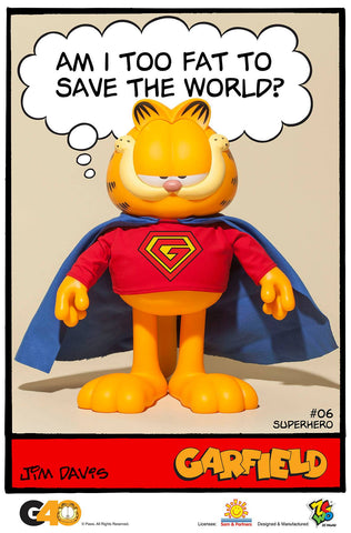 ZC World - Vinyl Collectibles - Master Series 06 - Superhero Garfield