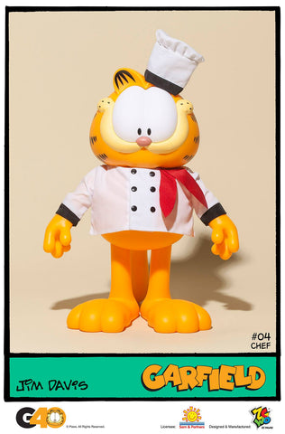 ZC World - Vinyl Collectibles - Master Series 04 - Chef Garfield