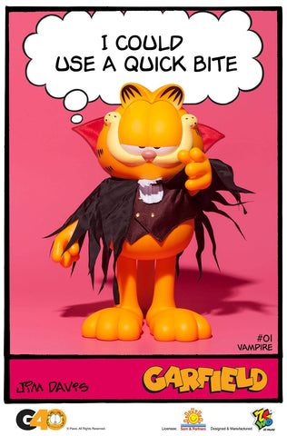 ZC World - Vinyl Collectibles - Master Series 01 - Vampire Garfield
