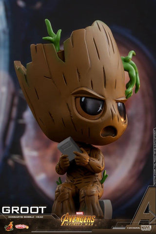 Hot Toys - COSB436 - Avengers: Infinity War - Groot Cosbaby Bobble-Head