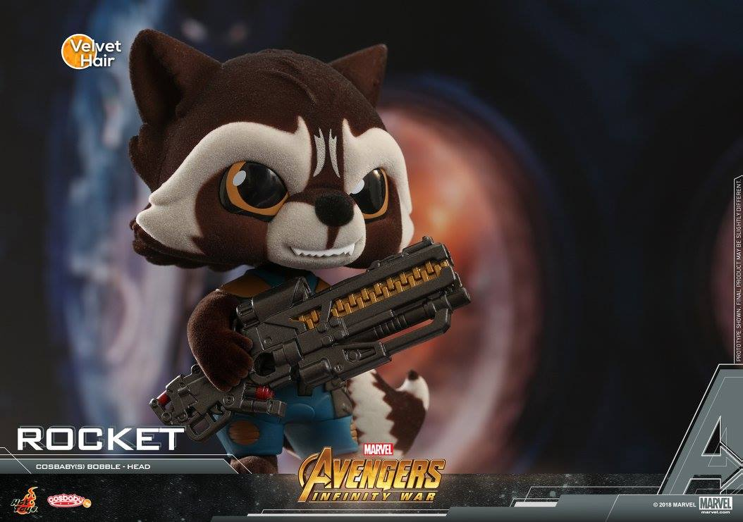 Hot Toys - COSB452 - Avengers: Infinity War - Rocket Cosbaby Bobble-Head