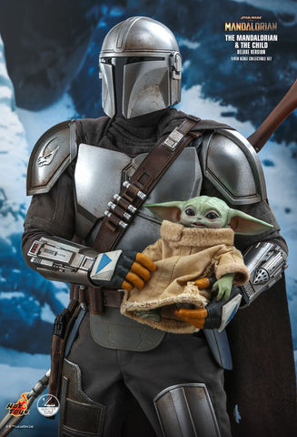 Hot Toys - QS017 - Star Wars: The Mandalorian - The Mandalorian & The Child (Deluxe Ver.) (1/4 Scale)