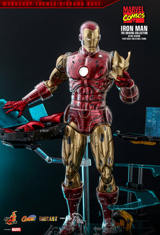 Hot Toys - CMS08D38 - Marvel Comics - The Origins Collections - Iron Man (Deluxe Ver.)