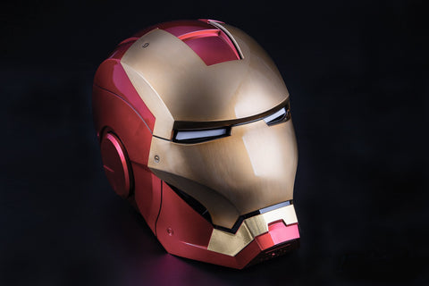 (IN STOCK!) Killerbody - 1:1 Scale High End Replica - Avengers - Iron Man Mark VII Helmet (Wearable Voice Control Brushed Finish)