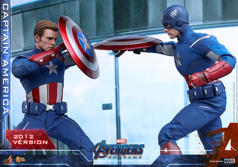 Hot Toys - MMS563 - Avengers: Endgame - Captain America (2012 Version)
