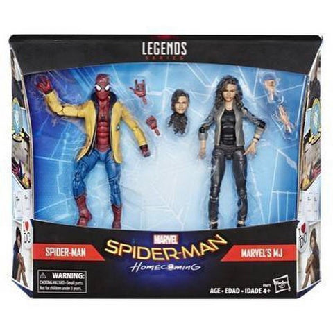 Hasbro - Marvel Legends - Spider-Man: Homecoming - Spider-Man and MJ