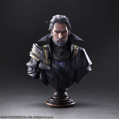 Static Arts Bust - Kingsglaive: Final Fantasy XV - King Regis Lucis Caelum - Marvelous Toys - 1