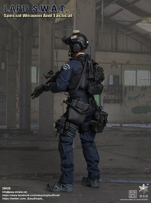 Easy & Simple - 26028 - LAPD S W A T  Police Officer (1/6 Scale)
