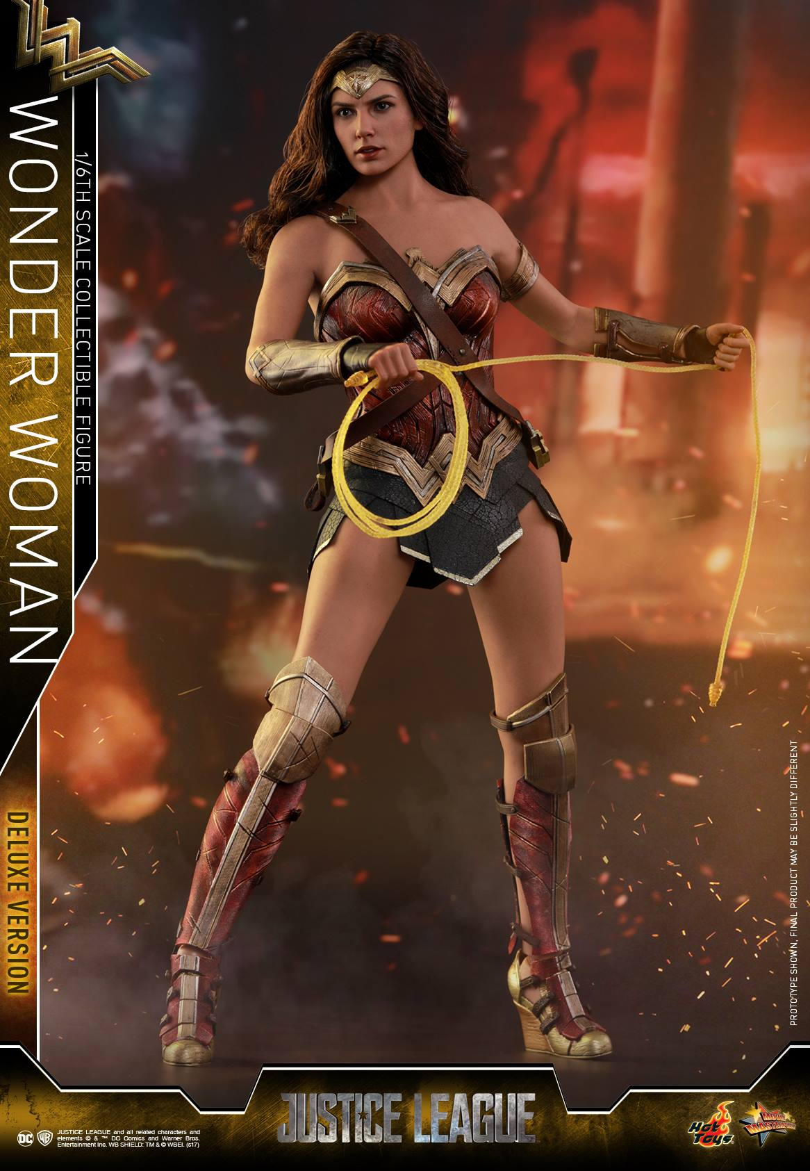 Hot Toys - MMS451 - Justice League - Wonder Woman (Deluxe Version)