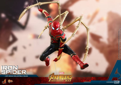 (IN STOCK) Hot Toys - MMS482 - Avengers: Infinity War - Iron Spider