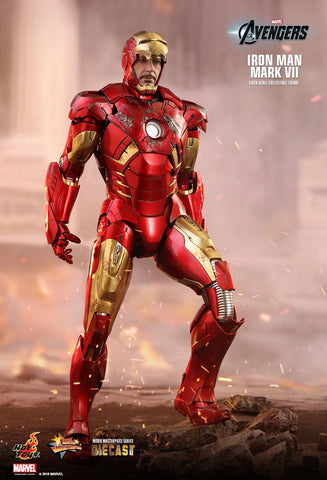 Hot Toys - MMS500D27 - The Avengers - Iron Man Mark VII (Diecast)