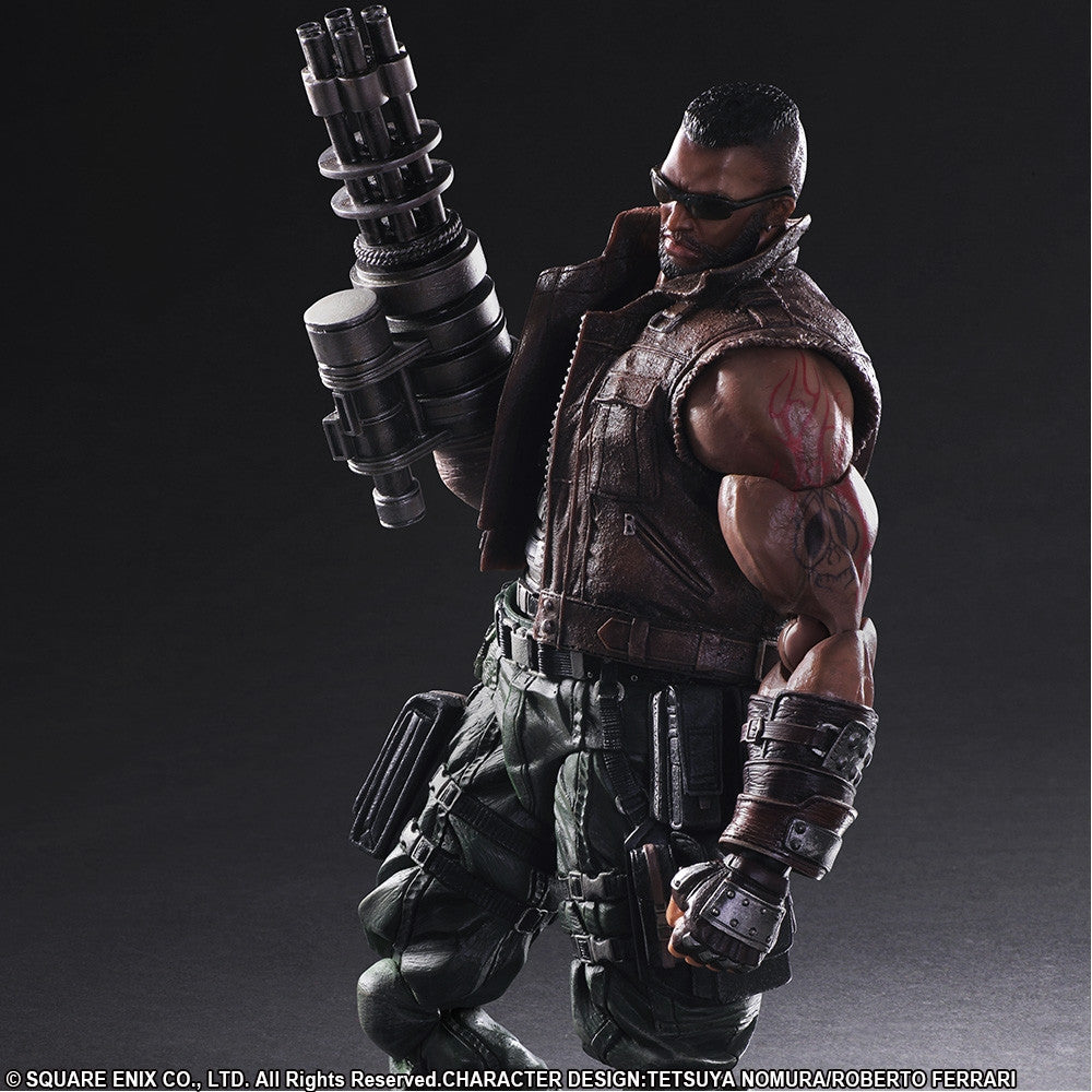 Play Arts Kai - Final Fantasy VII Remake - Barret Wallace - Marvelous Toys - 4