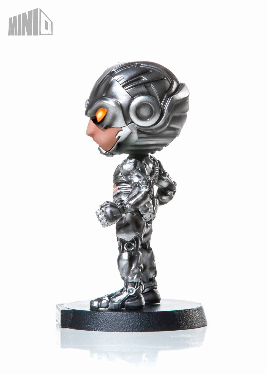 Iron Studios - Mini Co. Heroes - Justice League - Cyborg